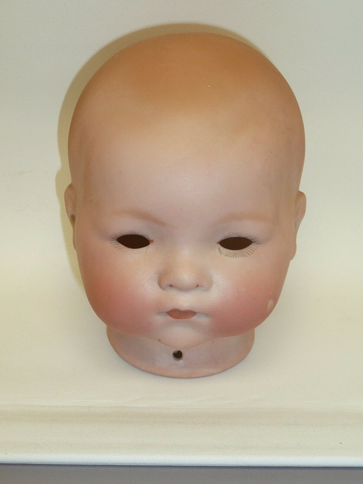 Antique Dream Baby 341 AM German Bisque Head, Pretty Coloreing, 12.5 Circumferenc