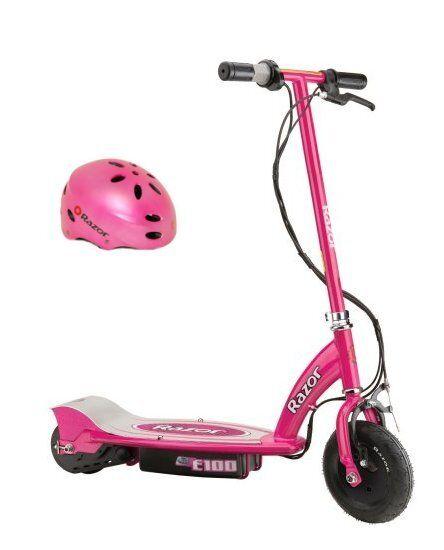 Electric Scooter Bike Hello Kitty 24v Step Up Razor E100 Motorized