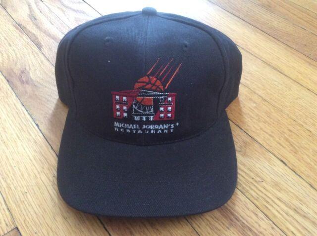 b821d4457623e RARE Vintage Nike Air Michael Jordan Restaurant Dad Hat NBA 90s ...