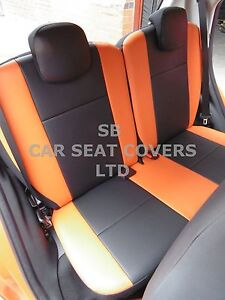 TO FIT A PEUGEOT 107, CAR SEAT COVERS, 2011 MODEL, CUSTOM MADE ...