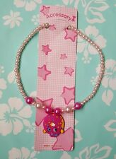 "NIP Lovely Shopkins kids D'lish Donut Necklace 16"" long stretchable"