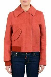 Maison-Martin-Margiela-1-Women-039-s-Wool-Mohair-Peach-Button-Up-Jacket-US-M-IT-42