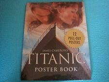 James Cameron's Titanic Poster Book by James Cameron (1998, Paperback) NEW