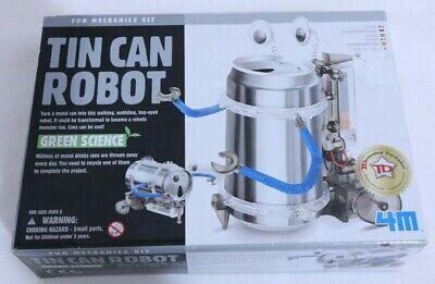 4 m Science Fun Kidz Labs Tin Can Robot