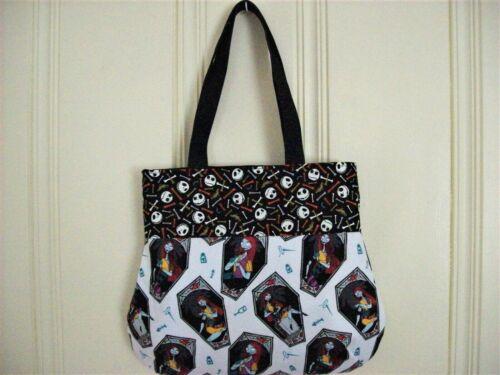 "Nightmare Before Christmas Shoulder bag.12.5/"" at top,14.5/"" at bottom,12.5/"" long"