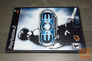 EOE-Eve-of-Extinction-PlayStation-2-PS2-2002-FACTORY-SEALED-EX