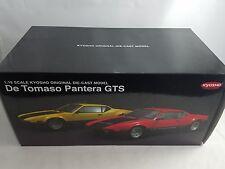 De Tomaso Pantera GTS Yellow Die Cast 1:18 Kyosho