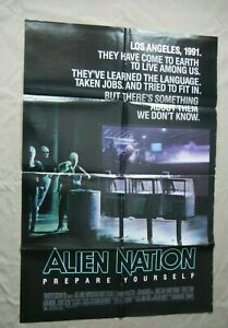 "Alien Nation - 1988 Original 27x41"" Original Movie Poster Sci-Fi James Caan"