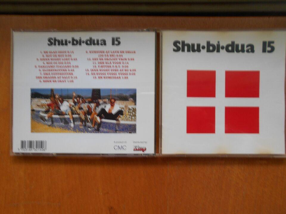shu-bi-dua, kr. 20 stk: nr. 6 - 11 - 14 - 15 - 17, pop
