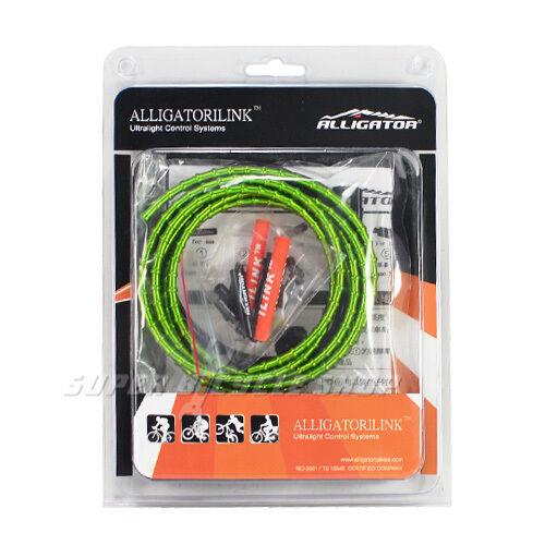 ALLIGATOR  I-LINK Cable Set For Brake  5mm , Green  brand outlet