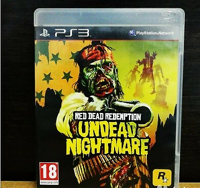 Red Dead Redemption: Undead Nightmare, PS3, action, Jeg…