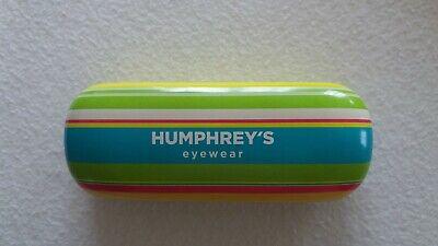 Begeistert Humphrey´s Original Brillenetui Hartschale Humphreys Etui Box Case Futteral SorgfäLtig AusgewäHlte Materialien