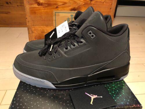 2013 5lab3 Nike Reflectivo Jordan Tama m Iii Air 14 Negro 3 Retro 3 o Hw4UHxrqB