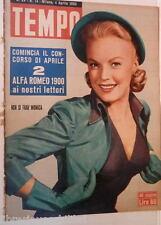 TEMPO 4 Aprile 1953 June Haver petroliere Lauro e Covelli Chaplin Di Fazio Oscar