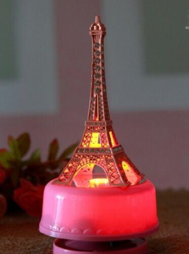 La Vie En Rose PINK PARIS EIFFEL TOWER WITH LED LIGHT