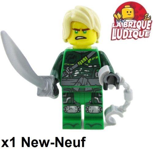 Figurine Minifig Ninjago Lloyd Hunted njo474 sabre sword 70651 NEUF Lego
