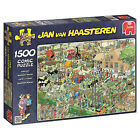 Jumbo Games Jan Van Haasteren - Farm Visit Jigsaw Puzzle (1500 Pieces)