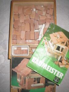 Details zu Anker-Steinbaukasten-Anker-Spielzeug-Baumeister-Haus-selber-bauen