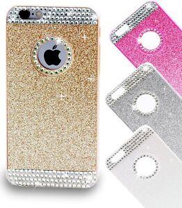Handyhuelle-iPhone-6-Schutz-Huelle-Glitzer-Strass-Tasche-Cover-Hard-Case-Diamant