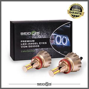 H8-LED-Angel-Eyes-Standlicht-fuer-BMW-E60-E61-E71-E70-LCI-E90-E91-X5-X6-Z4-E92-X1