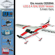 CESSNA 182 SKYLANE RC FLUGZEUG 3G3X RC BRUSHLESS/LIPO PIPER RTF READY TO FLY FZ2