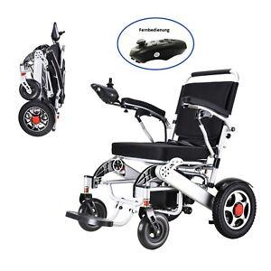 Elektrischer Rollstuhl faltbar Geh-Hilfe mit Fernbedienung NEU!