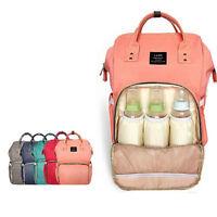 Land Mummy Maternity Nappy Diaper Bag Large Capacity Baby Bag Travel Backpack