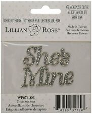 Lillian & Rose She's Mine Shoe Stickers