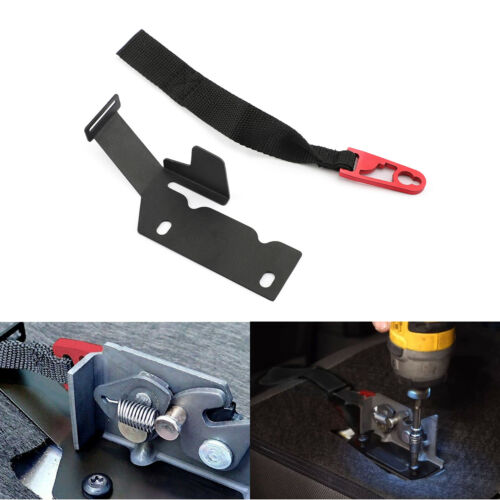 1PC Rear Seat Release Kit Red Strap For Ford Super Crew F-150 2009-2018 SuperCab