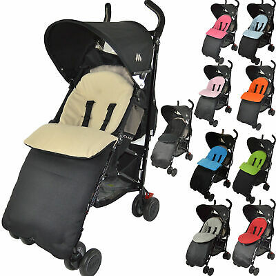 Deluxe Footmuff//Cosy Toes Compatible with Britax Caterpillar B-Motion B-Agile Double Black