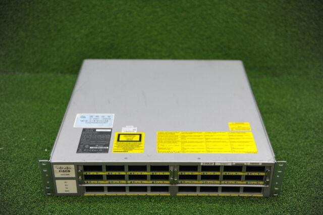 CISCO WS-C4900M 10GE w/ 2 x WS-X4908-10GE, Dual PSU PWR-C49M-1000AC - 1YrWty