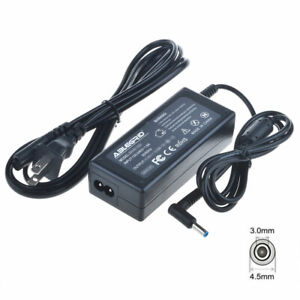 Lot 65W Adapter Power Charger Cord 19.5V 3.33A For HP Pavilion Laptop Blue Tip