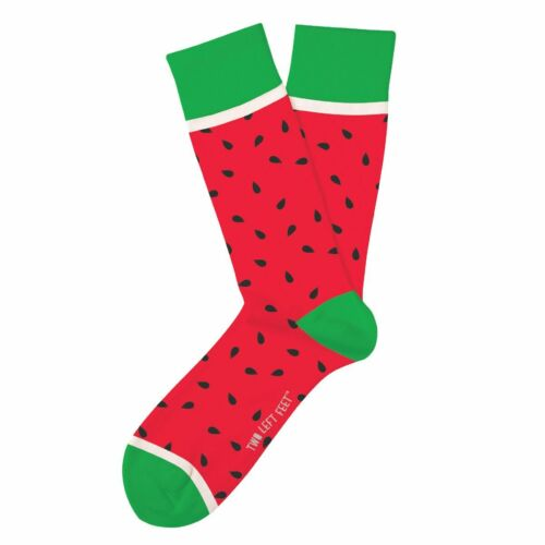 Watermelon Fun Novelty Socks Small Medium Feet Size Dress SOX Whata Melon Casual