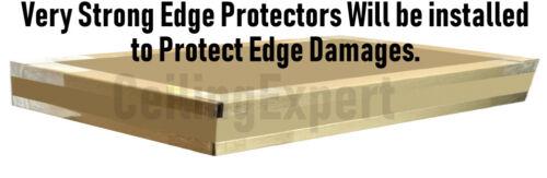 Suspended Vinyl Ceiling Tiles EasyClean Wipeable 1195x595 1200x600 Waterproof
