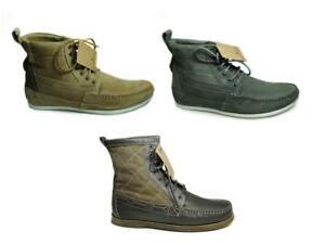 Details zu NEU HENLEYS 4 Inch Smokie Sandbar Schuhe Herren Leder Winter Boots Stiefel SALE