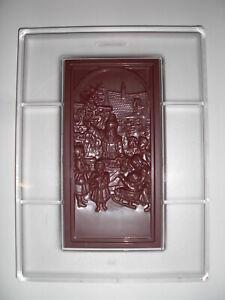 SCHOKOLADENFORM WEIHNACHTEN NIKOLAUS NEW chocolate mold ANTON REICHE # 522 NEU