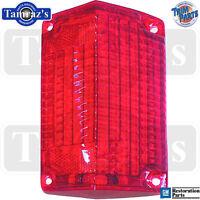 68 El Camino / Wagon Tail Light Lamp Lens Usa - Lh