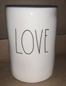 Rae-Dunn-LOVE-DW-Home-Gardenia-Peony-Rich-Candle-11-4-oz-Large-Letter-NEW