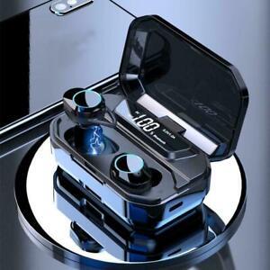 G02-TWS-Wireless-Bluetooth-5-0-Kopfhoerer-ipx7-Wasserdichte-Earpod-Ohrhoerer-W2J8