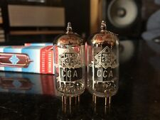 2x Telefunken CCa (E88CC/6922) pair (21/21mA-21/19mA) the same code  U4103202 O
