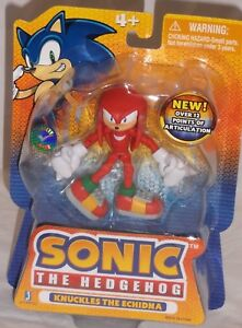 Misp Toysrus Exclusive Jazwares Sonic Hedgehog Poseable Action Figure Knuckles Ebay
