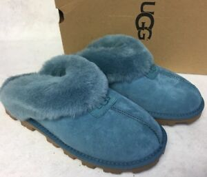 1aa62041b8c Details about Ugg Australia Coquette Cascade Blue 5125 Women's Slippers  House Shoes sizes