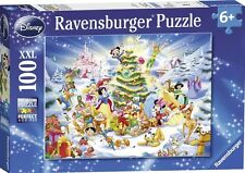 RAVENSBURGER CHRISTMAS PUZZLE*100 TEILE*DISNEY'S WEIHNACHTS-ZAUBER*Xmas*RARITÄT
