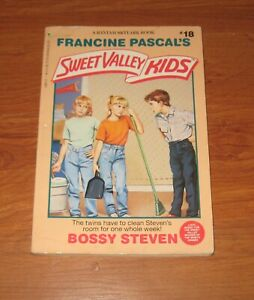Bossy Steven Sweet Valley Kids 18 By Francine Pascal