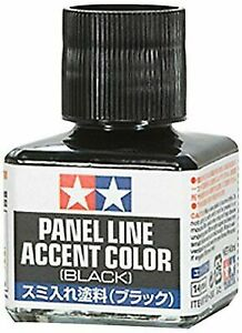 Tamiya 87131 Panel Line Accent 40ml -Black