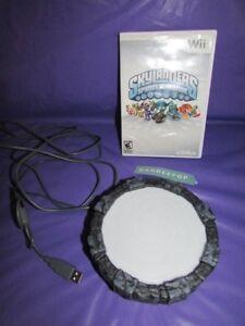 Nintendo-Wii-Skylanders-Portal-Of-Power-With-Spyro-039-s-Adventure-Video-Game