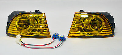 Lexus IS300 IS200 99-05 JDM Front Fog Lights - Yellow