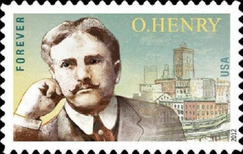 2012 45c O. Henry, Author Scott 4705 Mint F/VF NH