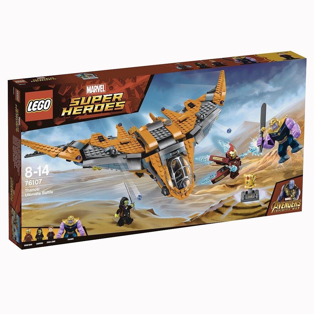 Lego Marvel Super Heroes 76107 Thanos: Das ultimative Gefecht NEU OVP