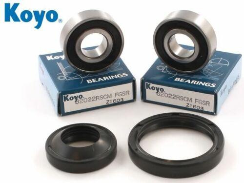 Euro HONDA XR250 TORNADO 2001-2002 KOYO Front Wheel Bearing /& Seal Kit